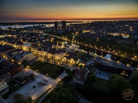 Vakarinės Klaipėdos panorama Photo Andrius Pelakauskas www.Fotopolis.lt Visos teises saugomos © #fotopolis #fotografas #renginiu